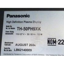 Refacciones Para Pantalla Plasma 50 Panasonic Th-50ph9xk