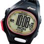 Reloj Asics Cqar01 08 50m W Intervalo 500 Lap Alarma