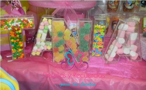 Letras acrilico decoracion evento fiestas baby shawer for Fiesta baby shower decoracion