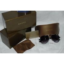 Óculos Gucci Aviador Original - Até 12x Sem Juro -