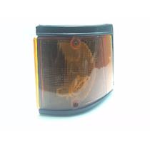 2x Lente Lanterna Dianteira (seta) Spazio Fiorino 1983 Ambar
