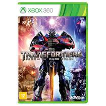 Jogo Transformers: Rise Of The Dark Spark Para Xbox 360