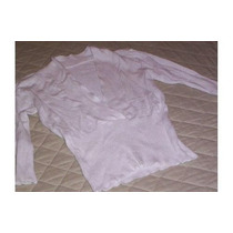 Sweater Blanco Mangas 7/4