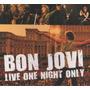 Cd Bon Jovi Live One Night Only