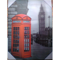 Cuadros 3d Londres, Cervezas,y New York,decoracion.