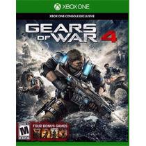 Gears Of War 4 Xbox One Mídia Física Nacional Lacrado