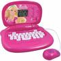 Laptop Computador Tablet Infantil Barbie - Pronta Entrega