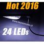 Foco Solar Led Iluminación Exterior Max 24led Facil Instalac