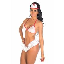 Conjunto Pimentinha Enfermeira - Fantasia Apimentada Sensual