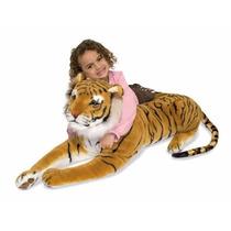 Tigre Peluche Gigante Jumbo Tamaño Real Melissa & Doug