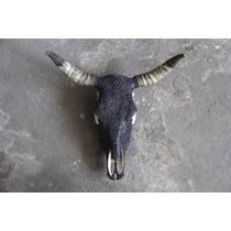 Arte Huichol - Arte Mexicano - Artesanía - Craneo Huichol -
