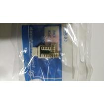 Conector Keystone Cat 5e Pacote Com 30 Unidades Rj45 Femea