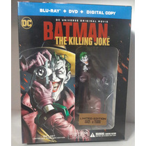 Batman The Killing Joke Blu-ray + Dvd + Figura De Joker