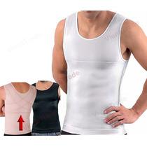 Regata Musculação Slim Academia Com Compressão Apoio Postura