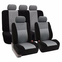 Fundas De Asientos Para Auto Airbag Color Negro Fh-fb060
