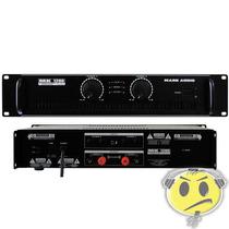 Amplificador Potência Mark Audio Mk1200 200w P R O M O Ç Ã O