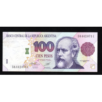 Billete Argentina 100 Pesos Convertibles Bottero 3083 Ex