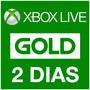Membresia 48 Horas Xbox Live Gold Xbox One 360