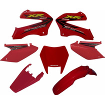 Kit Carenagem Adesivado Honda Xr 250 Tornado 2001 A 2005 7p