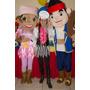 Show Animación Vengadores Doctora Juguetes Jake El Pirata