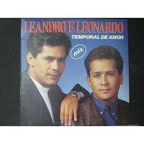Leandro E Leonardo - Lp Mix Temporal De Amor - 1992