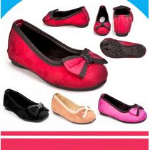 Bellas Zapatillas Gamuza Para Niñas Calidad Moda Regalo