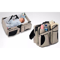 Bolso Para Bebe Cuna Transportable Cambiador Super Comodo