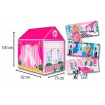 Casita Fashion Barbie Dream House Carpa Original