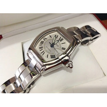 Cartier Roadster Large Acero Automatico 100% Original Submar