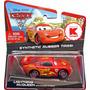 Disney Cars 2 Lightning Mcqueen Pneus De Borracha Mattel