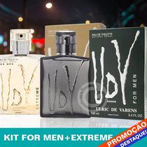 Perfume Udv Paris For Men + Udv Extreme 100ml