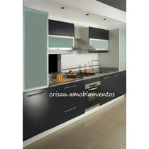 Muebles De Cocina, Bajo Mesada C/cantos De Aluminio A Medida