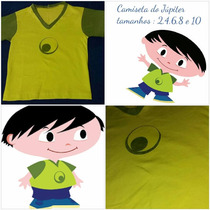Camiseta Fantasia Jupiter Show Da Luna