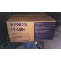 Impresora Epson Lx-300+ Nueva De Paquete Sin Abrir