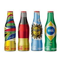 Mini Garrafinhas Coca-cola Copa Fifa 2014 - Colecione!!