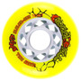 Ruedas Roller Profesionales Gyro Crazy Ball 80mm - Pack X 8