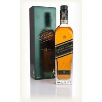 Whisky Johnnie Walker Green Label Blend Malt 15 Envio Gratis