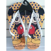 Chinelo Tipo Havaianas Personalizado Mickey