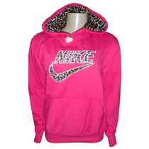 Blusa Nike Feminina Moletom Oncinha Casaco Jaqueta Pink