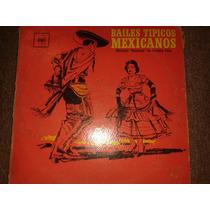 Disco Acetato: Bailes Tipicos Mexicanos