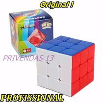Cubo Mágico 3x3x3 Shengshou Rainbow - Peças Coloridas