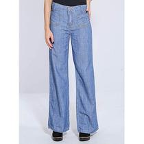 Calça Jeans Pantalona Feminina Sawary
