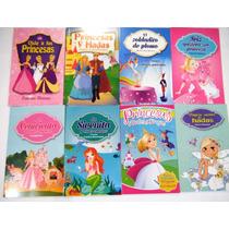 Paquete Niñas 8 Libros Cenicienta La Sirenita Bella Durmient