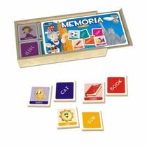 Jogo Educativo Infantil Memória Inglês Abc Brinquedos