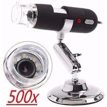 Microscópio Digital Usb Zoom 500x Camera Frete Mais Barato