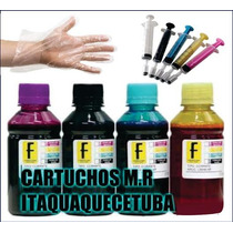 2000 Ml Kit Tinta Impressora Hp Ou Epson Ou Brothe Lc103 J43