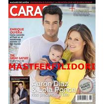 Aaron Diaz & Lola Ponce Revista Caras Julio 2013 Thalia