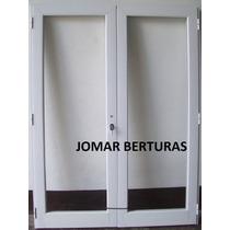 Puerta Balcon Rebatible Linea Modena Hermetica 1,60 X 2,00