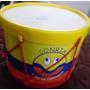 Tambor Bombo Infantil Con Parches En Cuero