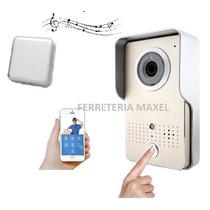Portero Visor Wifi Inalambrico Aluminio No Plastico + Timbre